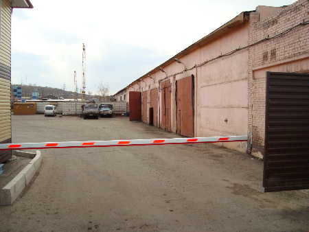 Шлагбаумы в Красноярске